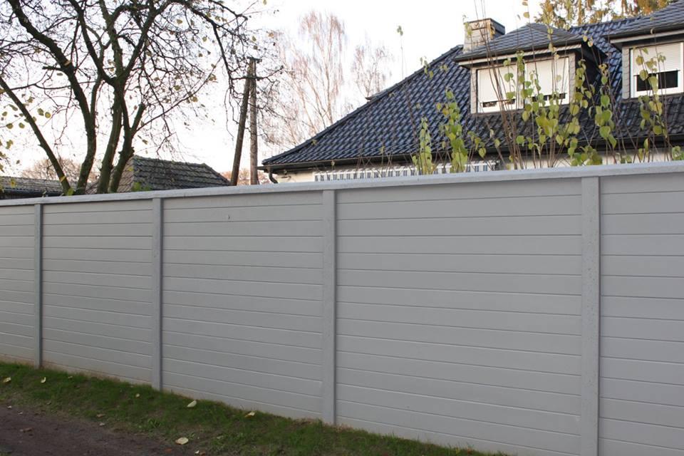 Betonschutting boardstone enkelzijdig 200x231cm