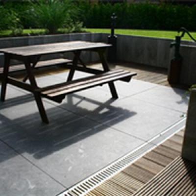 Terrassenplatte Bodenplatte Bluestone