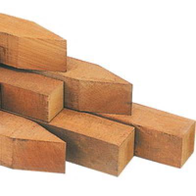 Pfosten hartholz für