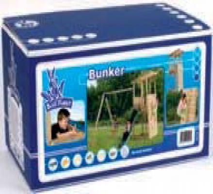Spielturm Baupaket Bunker Kit