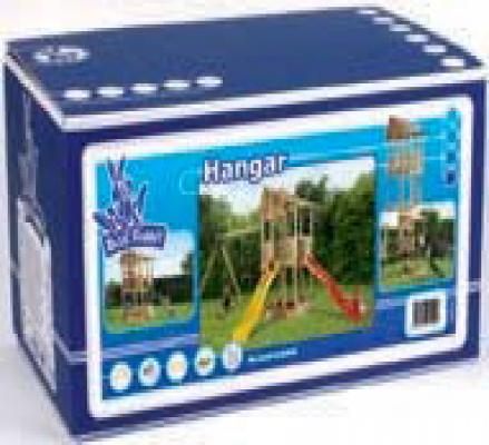 Spielturm Baupaket Hangar Kit