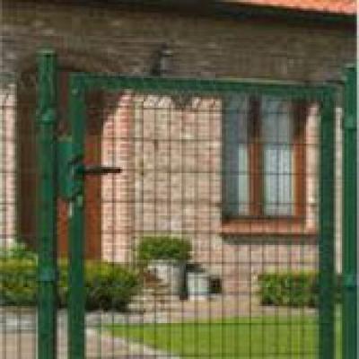 Draaipoort voor hekwerk 100x173cm groen