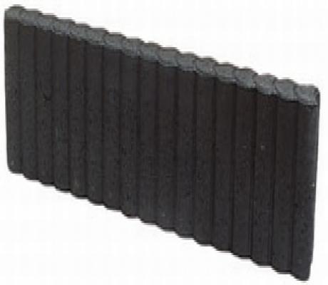 Palissade opsluitband zwart 50cm