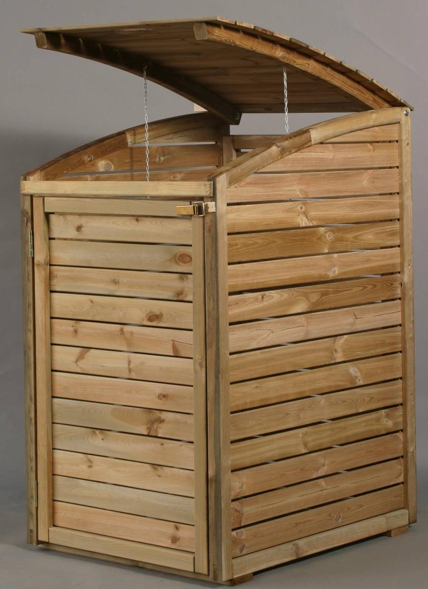 Mülltonnenbox 75x125x90cm
