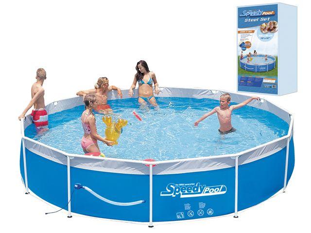 Pools, Schwimmbecken - Schwimmbad Schwimmbecken plastik  - Onlineshop Intergard