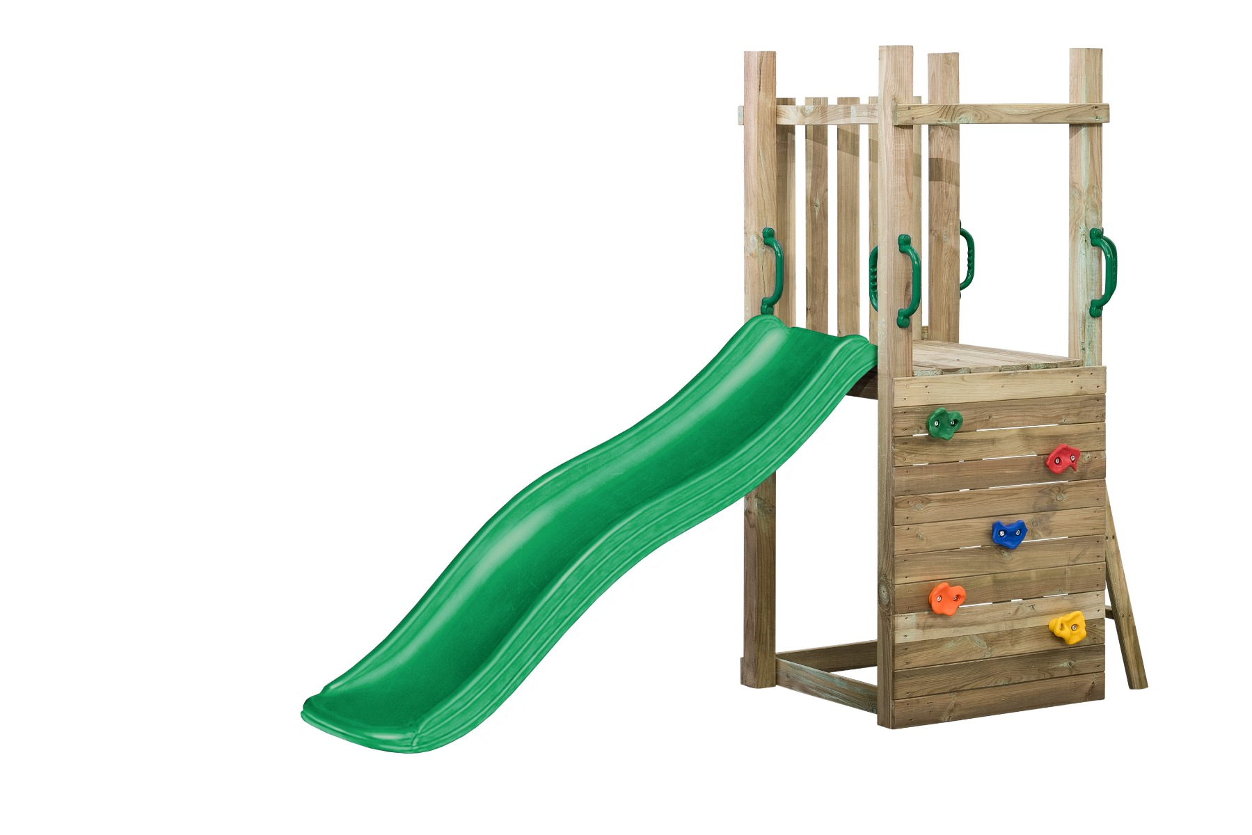Holzschaukel Spielgerät Imca 70x160x175cm
