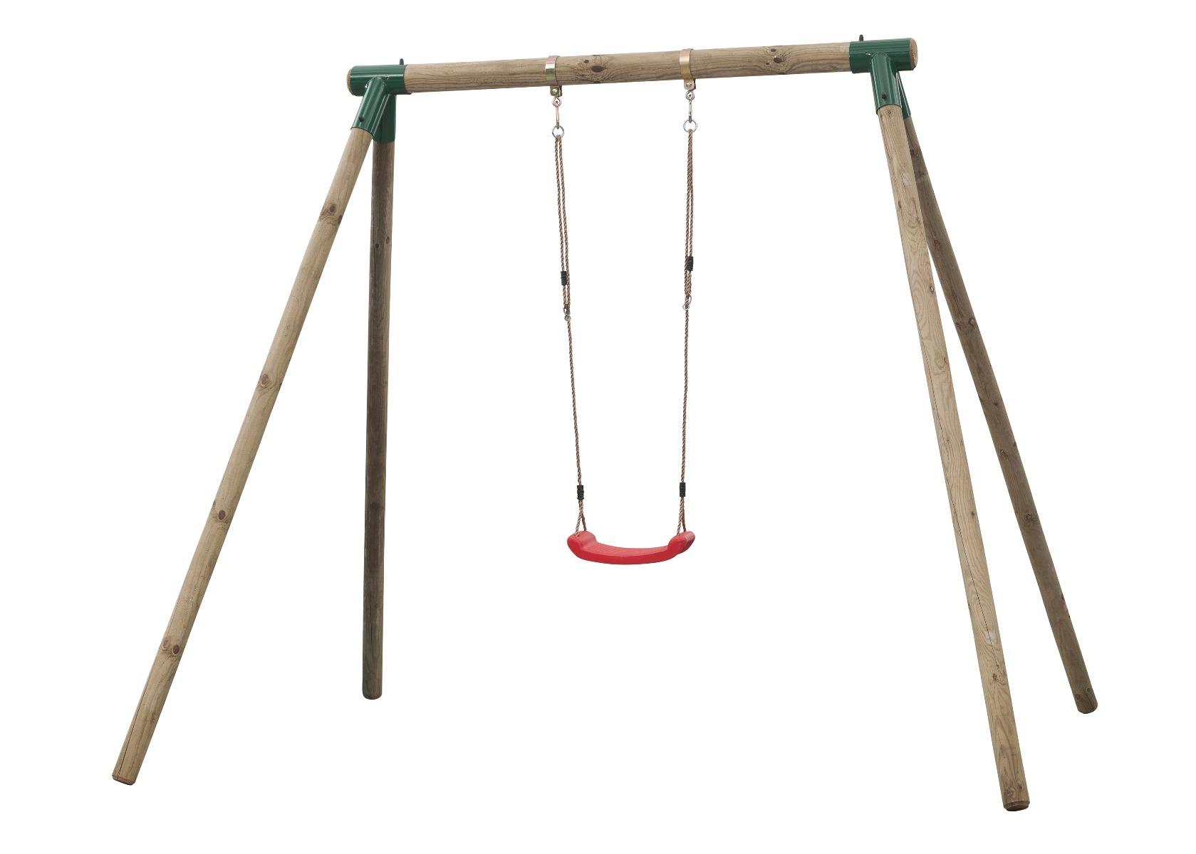 Holzschaukel Spielgerät Alicia 240x220x220cm