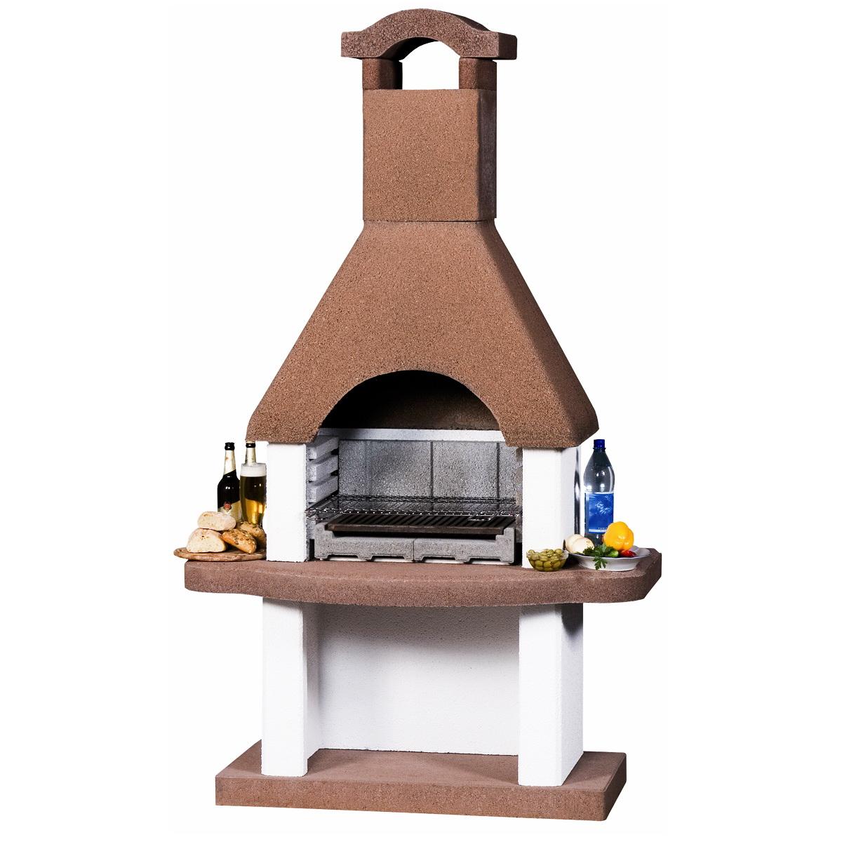 Barbecue bbq beton nr. 5 200x120x65cm / 430kg