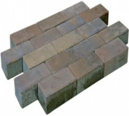 Betonklinkers dikformaat sierbestrating Autumn strak, 21x7x7cm, per m2