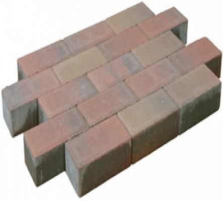 Pflastersteine beton dunkel