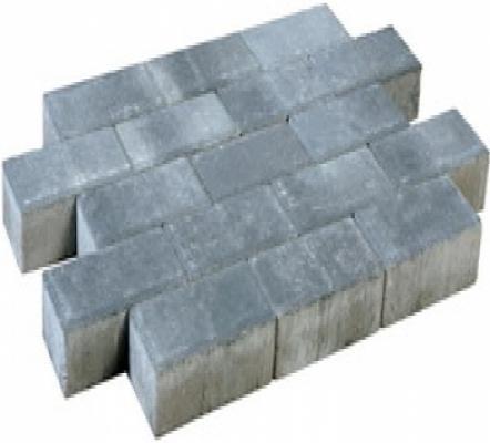 Betonklinkers dikformaat sierbestrating Smook strak, 21x7x7cm, per m2