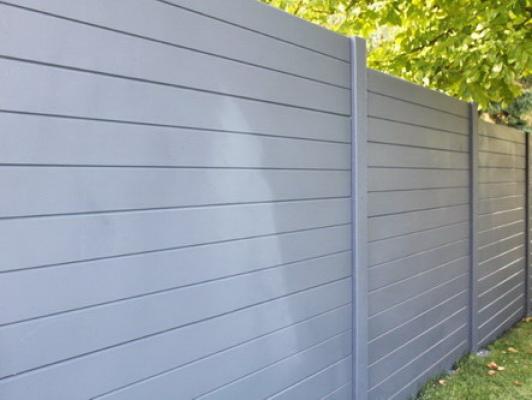 Betonzaun boardstone grau 200x193cm doppelseitig jetztbilligerkaufen