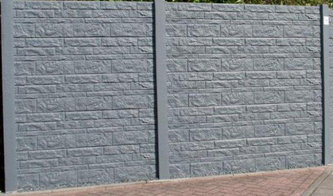 Betonschutting fencestone dubbelzijdig 200x193cm