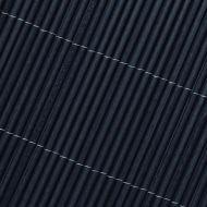 Rollos de mimbre antracita 2x3m compuesto