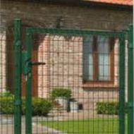 Draaipoort voor hekwerk 100x123cm groen