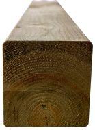 Houten palen tuinpalen grenen 9x9x240cm