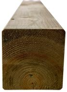 Houten palen tuinpalen grenen 7x7x240cm