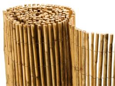 Bamboo fence screen