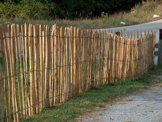 Kastanjehouten hekwerken