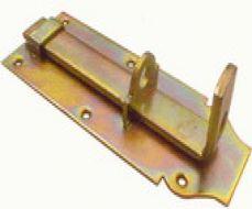 Hangslotschuif 10cm met sluitbeugel
