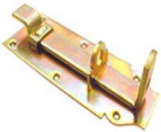 Hangslotschuif 10cm met bocht