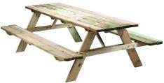 Picknicktafel grenen opklapbaar 210cm