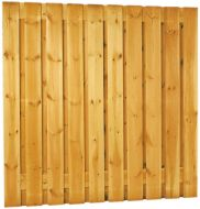 Schutting tuinscherm 19 planks 180x180cm RVS
