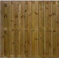 Schutting tuinscherm 180x180cm 19 planks
