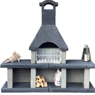 Barbecue masonry Venezia no. 2 (200x200cm / 600kgs)