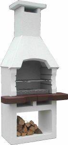 Barbecue masonry 195x93cm / 300kgs