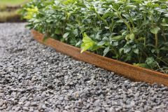 Border Edging Corten Steel 240cm