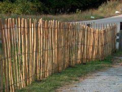 Chestnut paling fencing rolls  0,90x10m (7/8cm)