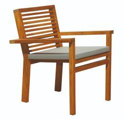 Garden chair hardwood