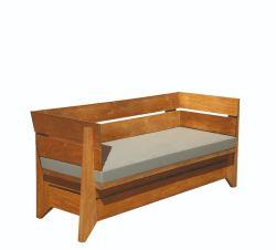 Muebles de jardin sofa madera dura