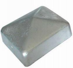 Chapeau de poteau acier galvanisé 101mm