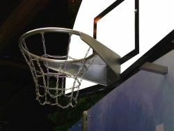 Basketball ring, stainless