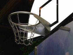 Basketbal ring RVS voor openbare speelplaatsen