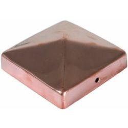 Tapa poste de madera 91x91mm cobre