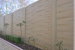 Concrete fence Weavestone 200x193cm double sided