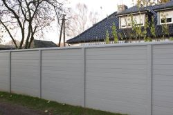 Concrete fence Boardstone 200x193cm double sided