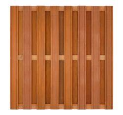 Paneles vallas Bangkirai madera dura 180x180cm