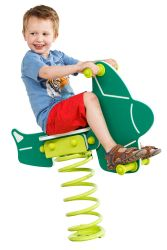 Spring rider Airplane 100x60cm