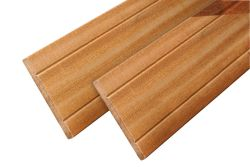 Fence board hardwood Bangkirai plank 245cm (16x145mm)