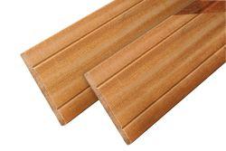 Fence board hardwood Bangkirai plank 275cm (16x145mm)