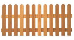 Hekwerk Bangkirai hardhouten tuinhek recht 80x180cm
