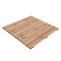 Losetas de madera 100x100cm