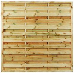 Clôture en bois autoclave 180x180cm
