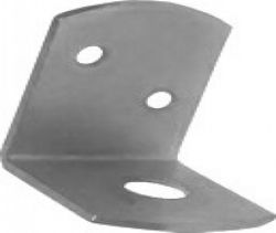 L-brackets, stainless steel