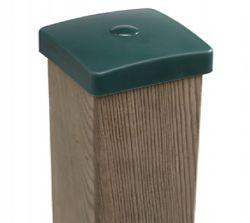 Tapa poste de madera 91x91mm plastico