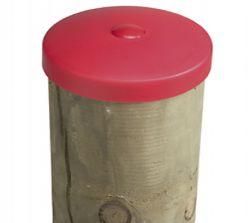 Tapa poste de madera ø80mm plastico